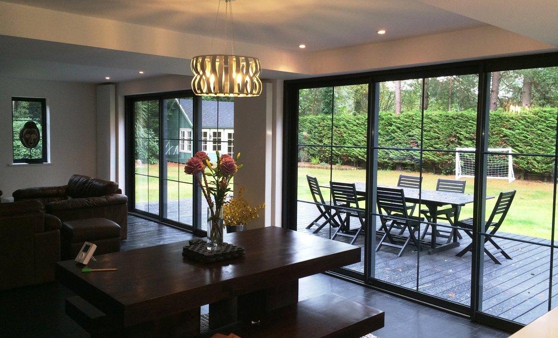 White Wood Windows Bifold Doors Orangeries And